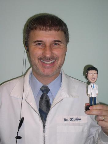 Dr Kvitko and his Bobble Head!