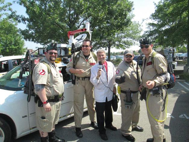 Interviewing Ghost Busters