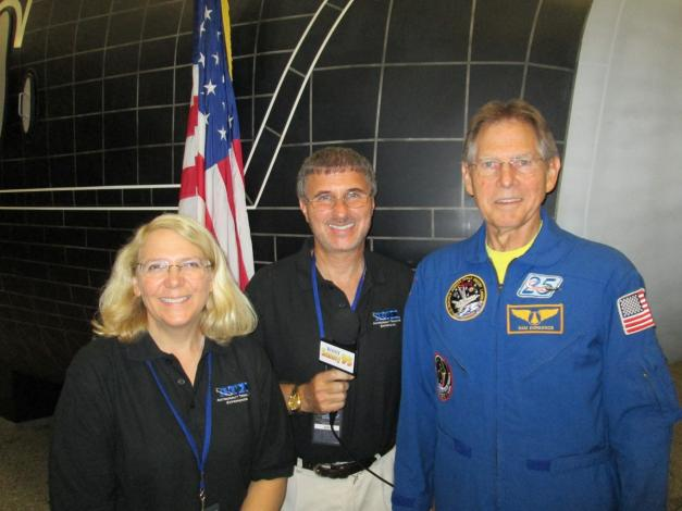 With Columbia Astronaut Sam Durnance