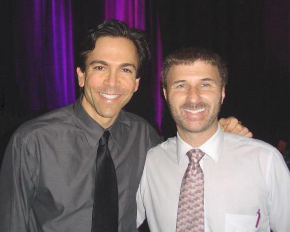 With Dr Bill Dorfman of Extreme Makeover